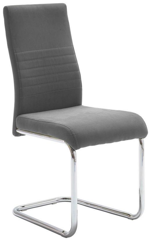 SCHWINGSTUHL Webstoff Grau - Grau, Design, Textil/Metall (43/96/59cm) - Carryhome