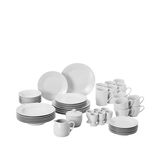 SERVIS KOMBINOVANÝ - bílá, Basics, keramika - Boxxx