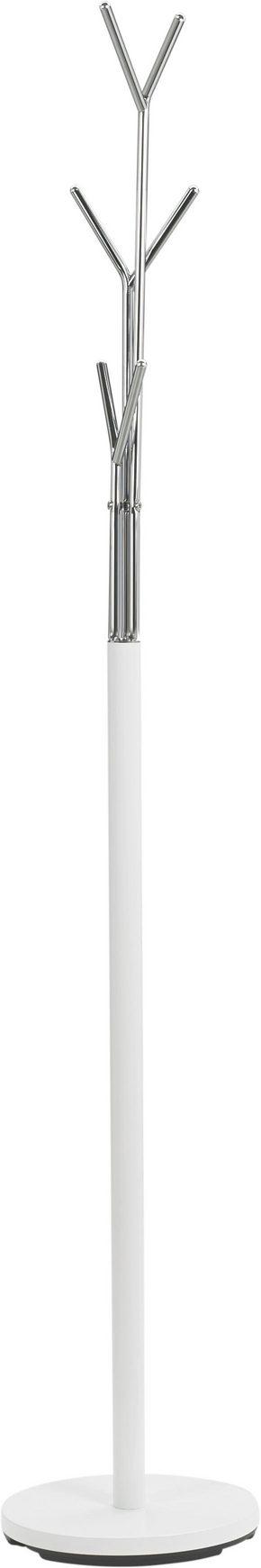 KLÄDHÄNGARE - vit/kromfärg, Design, metall (29/171/29cm) - Low Price