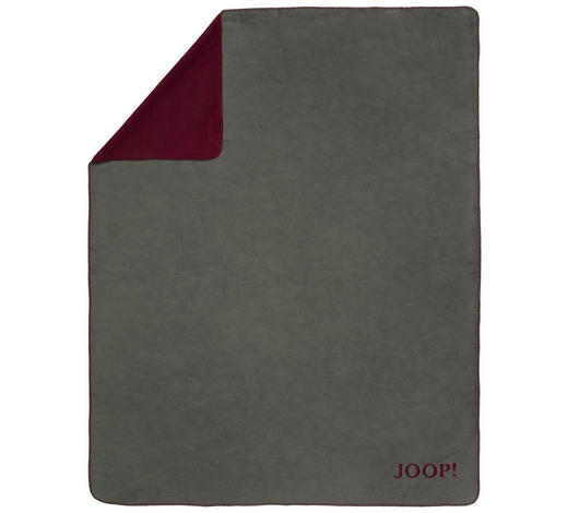 DECKE - Beere/Graphitfarben, Design, Textil (78/51/5cm)