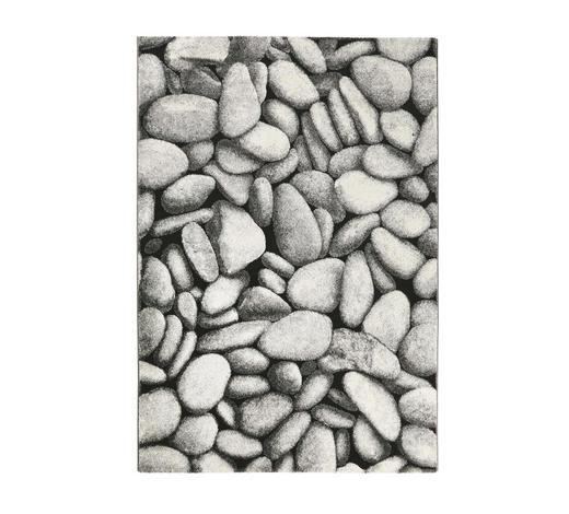 WEBTEPPICH - Silberfarben/Schwarz, Design, Textil (160/225cm) - Esprit
