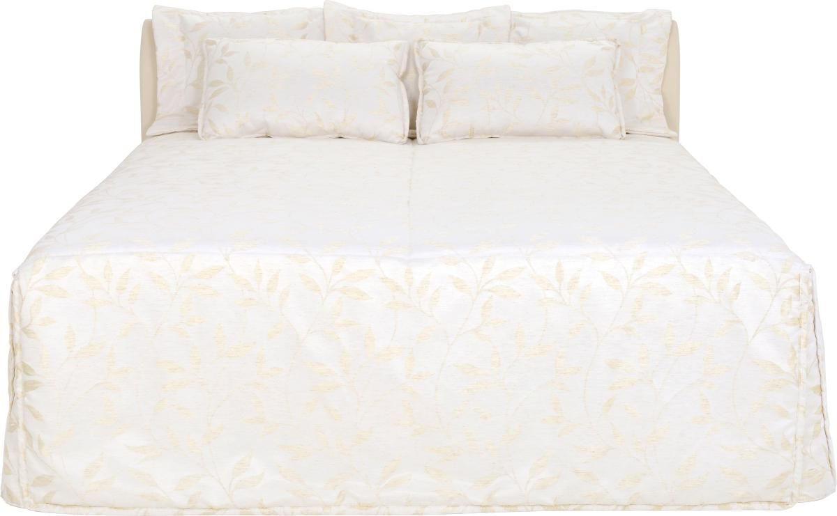 POLSTERBETT 180 cm   x 200 cm   in Textil Beige - Beige, KONVENTIONELL, Kunststoff/Textil (180/200cm) - ADA AUSTRIA