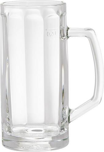 BIERKRUG - Klar, KONVENTIONELL, Glas (0,3l) - HOMEWARE