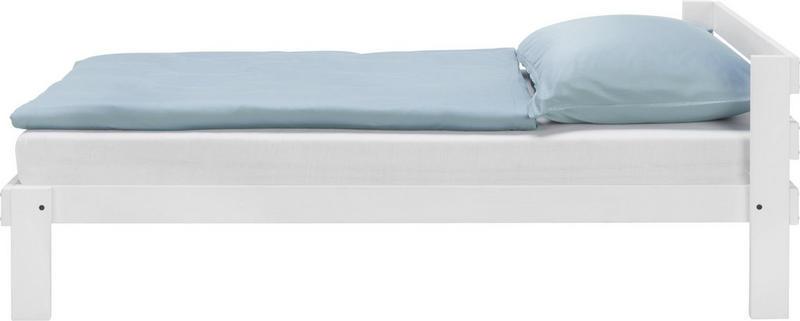 SÄNG - vit, Design, trä (205/165/100cm) - Carryhome