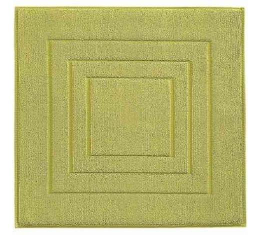 BADEMATTE in Hellgrün 60/60 cm  - Hellgrün, Basics, Textil (60/60cm) - Vossen