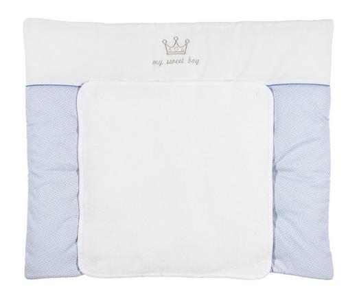 WICKELAUFLAGE 85/72 cm - Blau/Weiß, Basics, Textil (85/72cm) - Patinio