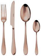 Sambonet Besteck 24-tlg.  24-teilig  Edelstahl - Kupferfarben, Metall