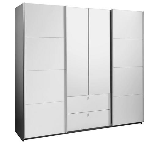 KLEIDERSCHRANK 4 -türig Grau, Weiß online kaufen ➤ XXXLutz
