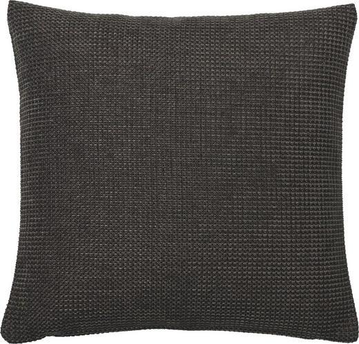 KISSENHÜLLE Anthrazit 40/40 cm - Anthrazit, Basics, Textil (40/40cm)
