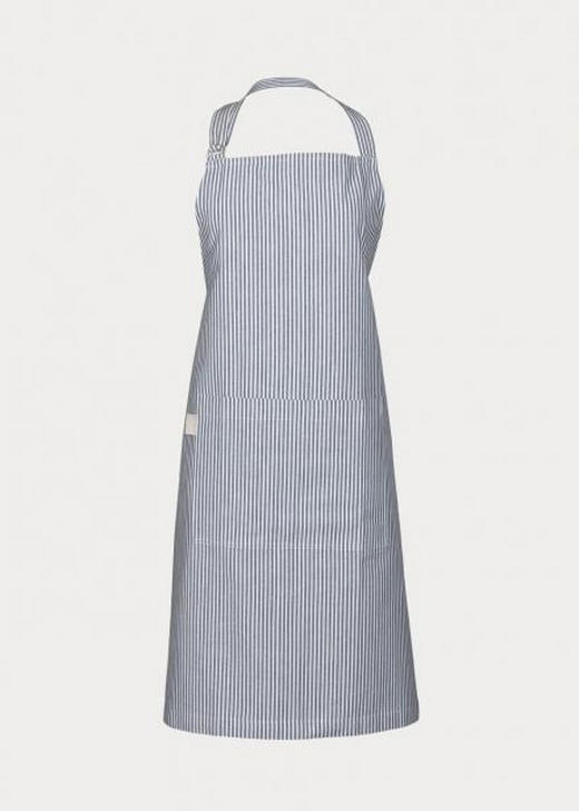 SCHÜRZE - Blau, Basics, Textil (80/105cm) - Linum