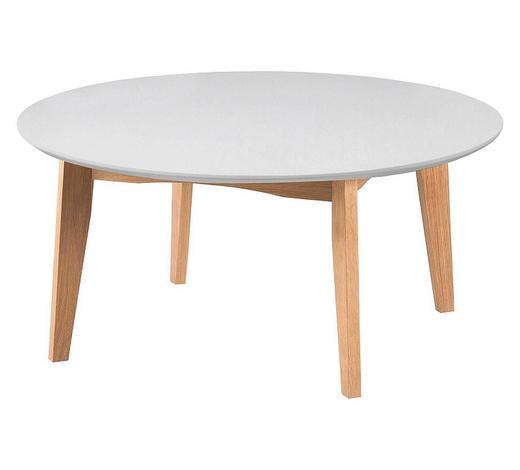 COUCHTISCH in Holz, Holzwerkstoff - Naturfarben/Weiß, Trend, Holz/Holzwerkstoff (90/42/90cm)