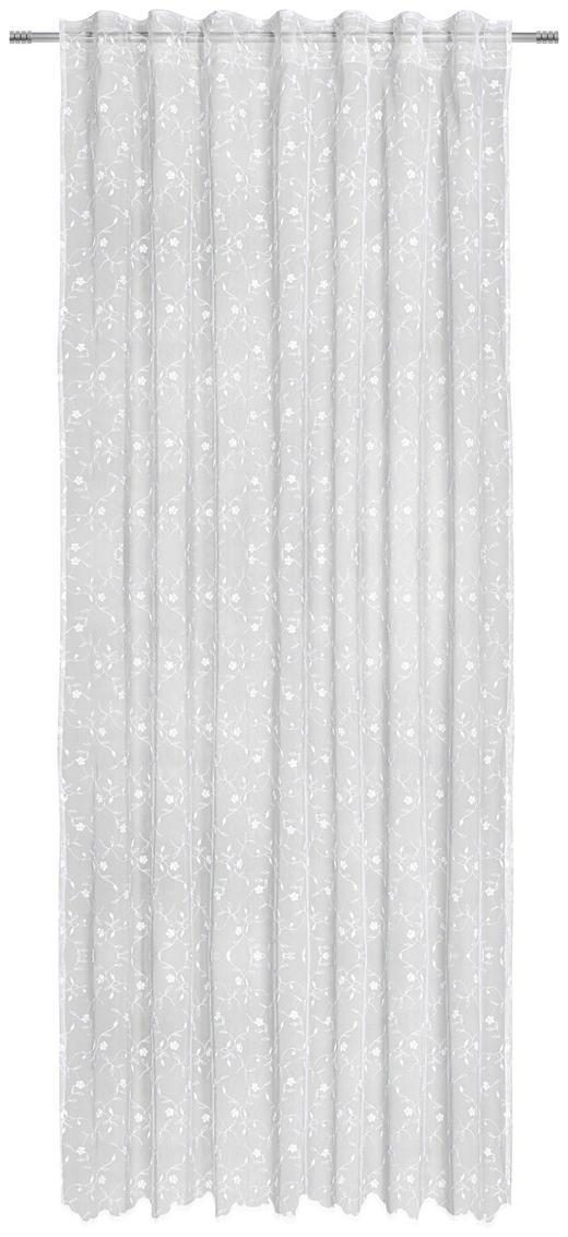 FERTIGSTORE  transparent  140/245 cm - Weiß, LIFESTYLE, Textil (140/245cm) - Landscape