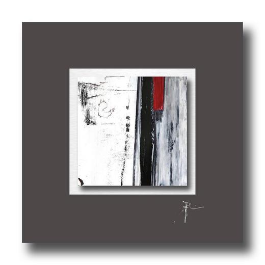 Abstraktes UNIKAT AUF ALUPASSEPARTOUT - Multicolor, Design (50/50cm) - Wiedemann