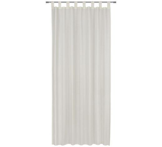 SCHLAUFENVORHANG blickdicht - Naturfarben, Basics, Textil (135/245cm) - Esposa
