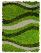 TEPIH VISOKOG FLORA - zelena, Basics, tekstil (140/200cm) - Novel