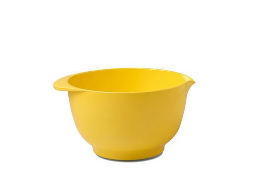 RÜHRSCHÜSSEL - Gelb, Design, Kunststoff (25/21,5/13cm) - Mepal Rosti