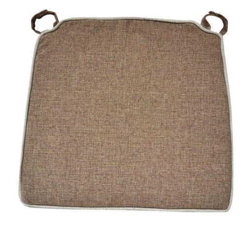 STUHLKISSEN Hellbraun - Hellbraun, LIFESTYLE, Textil (50/46/2cm)