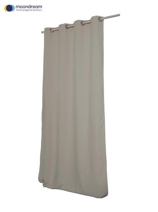 VERDUNKELUNGSVORHANG  Verdunkelung  145/260 cm - Taupe, Textil (145/260cm)