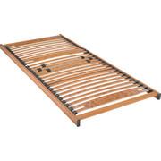 LATTENROST  80/190 cm  Buche Echtholz - Hellbraun/Buchefarben, Basics, Holz (80/190cm) - Schlaraffia