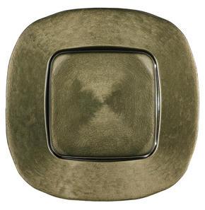 UNDERTALLRIK - olivgrön, Design, glas (34/34cm) - Novel