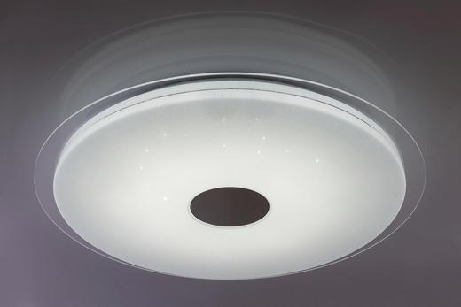 LED-DECKENLEUCHTE - Weiß, MODERN, Kunststoff (46cm) - Novel
