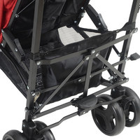 BUGGY MADRID - Rot/Schwarz, KONVENTIONELL, Textil/Metall (80,5/47,5/106,5cm) - My Baby Lou