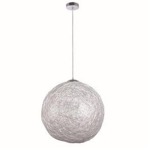 TAKLAMPA - alufärgad/kromfärg, Klassisk, metall (50/120cm) - Boxxx