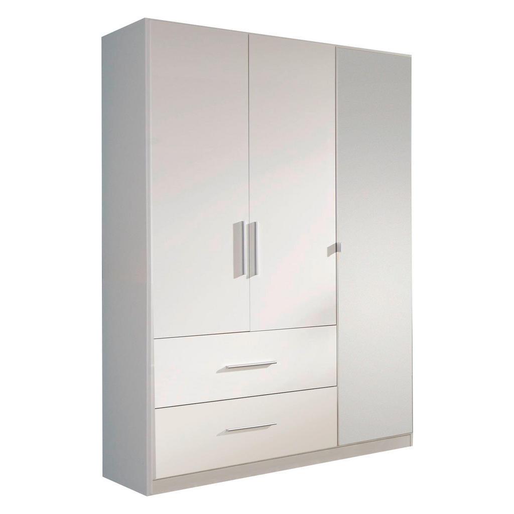 Carryhome Kleiderschrank 3-türig weiß