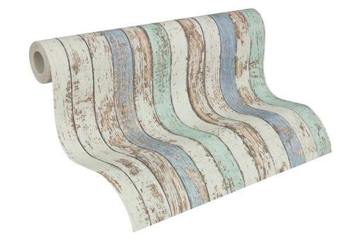 Vliestapete in holzoptik antik 10,05 m - Beige/Braun, LIFESTYLE, Textil (53/1005cm)