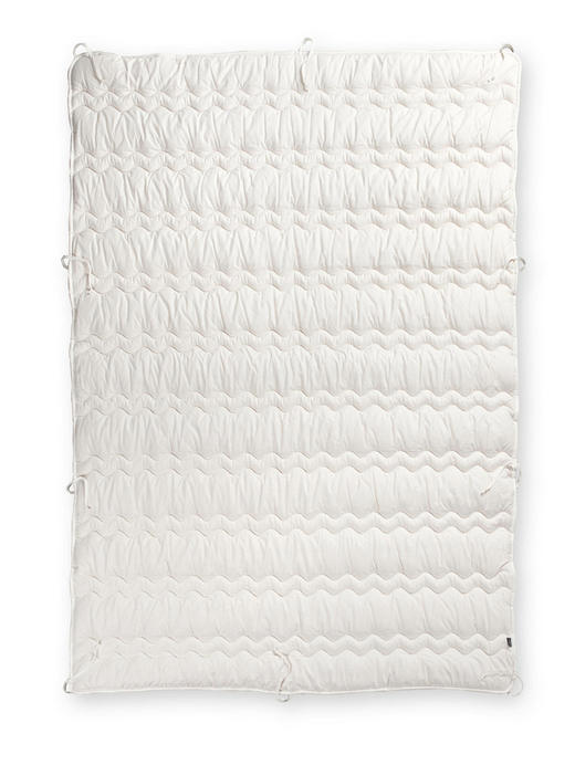 POPLUN CJELOGODIŠNJI - bijela, Konvencionalno, tekstil (220/240cm)
