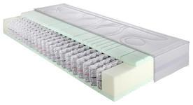 MATRATZE mediQ PROGRESS FI 100/200 cm - Weiß, Basics, Textil (100/200cm) - DIETER KNOLL