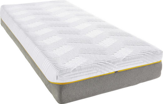 MATRATZE SENSATION ELITE - Weiß/Grau, Basics, Textil (80/200cm) - Tempur