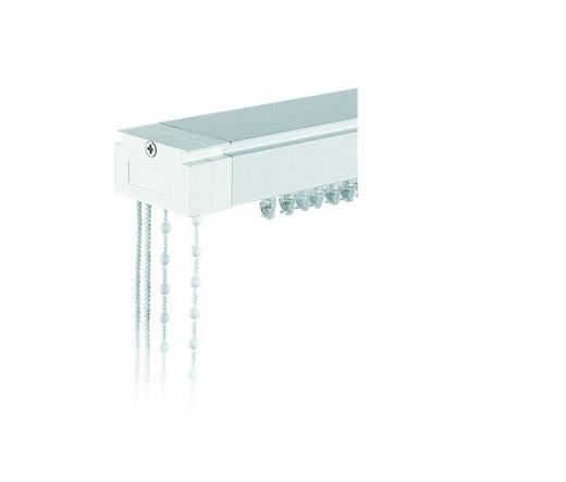 VERTIKALSCHIENE 150 cm - Weiß, Basics, Metall (150cm) - Homeware