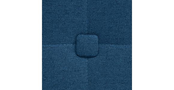 BOXSPRINGBETT 200/200 cm  in Dunkelblau  - Alufarben/Dunkelblau, KONVENTIONELL, Textil (200/200cm) - Dieter Knoll