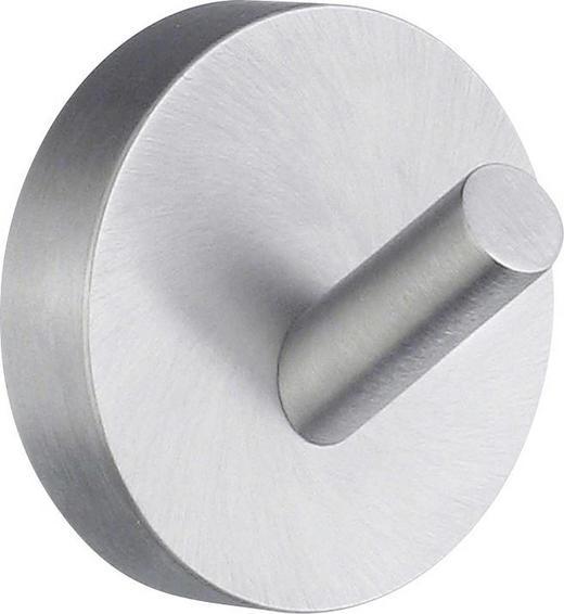 HANDTUCHHAKEN in Chromfarben - Chromfarben, Basics, Metall (4,8cm)