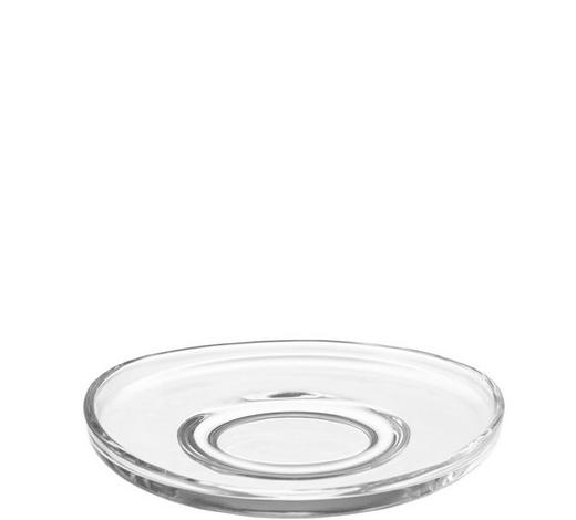 UNTERTASSE - Klar, Basics, Glas (11cm) - Leonardo
