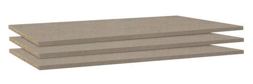 EINLEGEBODENSET 3-teilig Grau - Grau, Basics (88/1,6/45cm) - Carryhome
