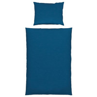 BETTWÄSCHE 140/200 cm  - Blau, Basics, Textil (140/200cm) - Novel