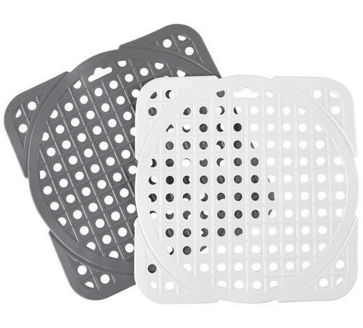 SPÜLBECKENEINLAGE - Weiß/Grau, Basics, Kunststoff (30/30cm) - Homeware