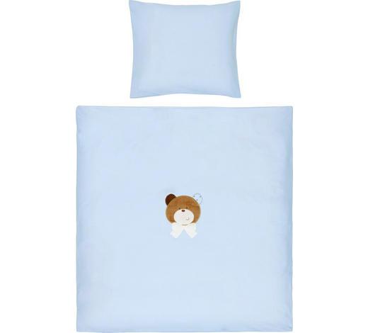 POSTELJNINA ZA DOJENČKE MAX - modra, Basics, tekstil (80/80cm) - Patinio
