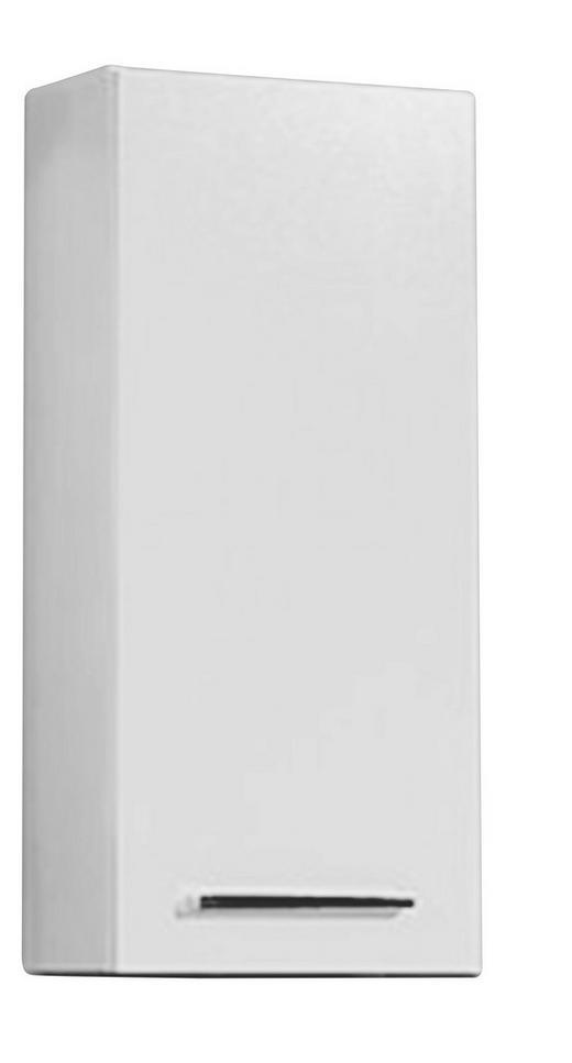 OBERSCHRANK Weiß - Chromfarben/Weiß, Design, Holzwerkstoff (30/70/20cm) - Carryhome