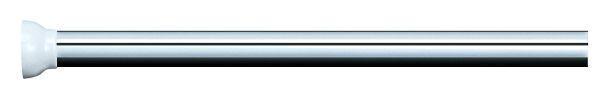 DUSCHVORHANGSTANGE  Alufarben, Weiß 90/90 cm - Alufarben/Weiß, Basics, Metall (90/90cm)