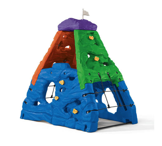KLETTERFELS SKYWARD SUMMIT - Blau/Lila, KONVENTIONELL, Kunststoff (203,2/203,2/132,1cm)
