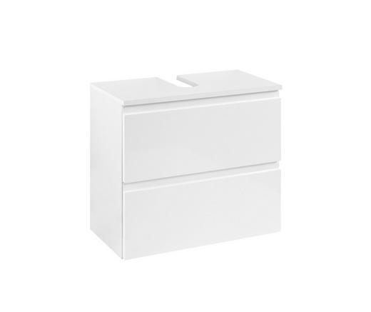 WASCHBECKENUNTERSCHRANK Weiß - Weiß, Design, Holzwerkstoff (60/53/35cm) - Xora