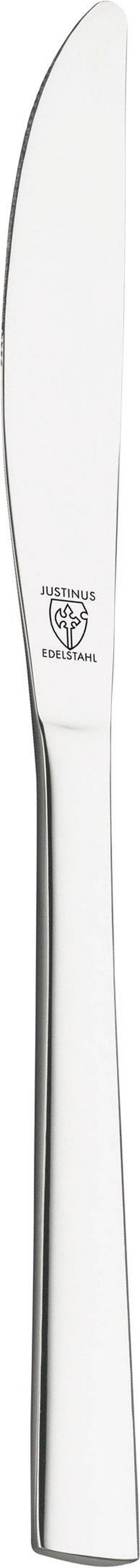 MESSER - Silberfarben, Basics, Metall (22.6/0.19/0.07cm) - JUSTINUS