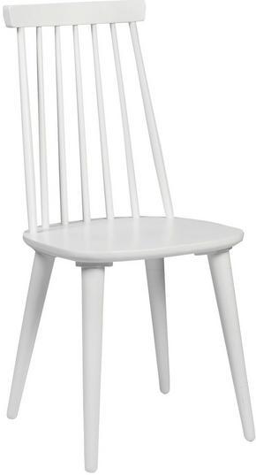 STOL - vit, Design, trä/träbaserade material (43/92/50cm) - Rowico
