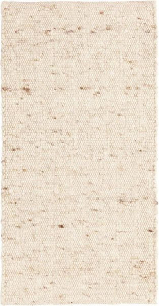 HANDWEBTEPPICH  60 110  cm  Creme - Creme, Basics, Textil (60 110 cm) - Linea Natura
