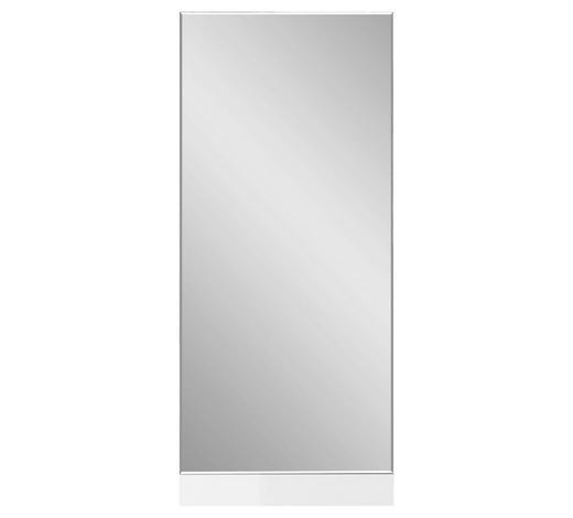 SPIEGEL 54/125/3 cm - Weiß, Design, Glas/Holzwerkstoff (54/125/3cm) - Carryhome
