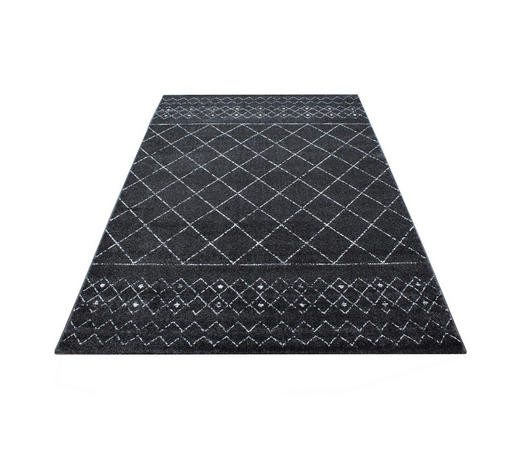 WEBTEPPICH  160/230 cm  Grau   - Grau, Trend, Textil (160/230cm) - Novel