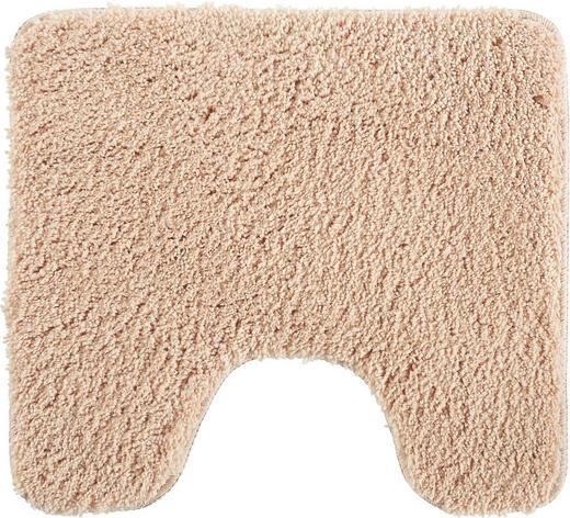 Wc-vorleger in Beige 45/50 cm - Beige, Basics, Weitere Naturmaterialien/Textil (45/50cm) - Esposa
